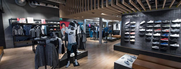 Nike Store is one of Stockholm.