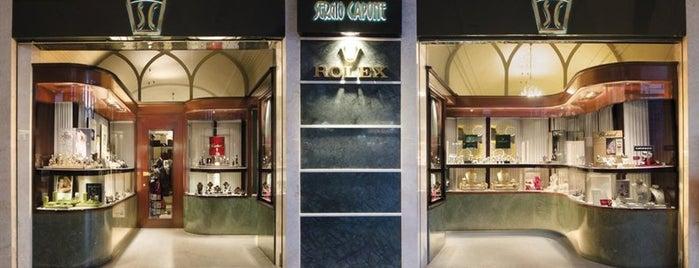Sergio Capone Gioielli - Rivenditore Autorizzato Rolex is one of Orte, die Alessandro gefallen.
