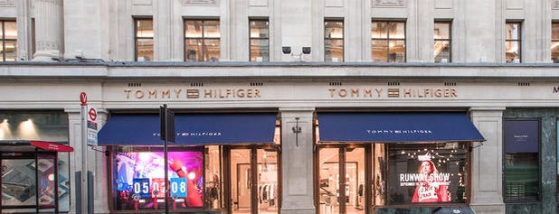 Tommy Hilfiger is one of Guide to London's best spots.