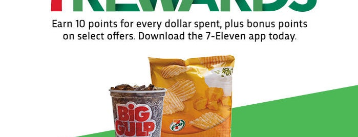 7-Eleven is one of Orte, die Chrissy gefallen.