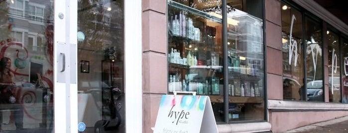 Hype Hair Studio is one of สถานที่ที่ cherie ถูกใจ.