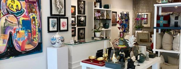 Art & Home Gallery by Aldo Puschendorf is one of El Portal, Little River, Miami Shores.