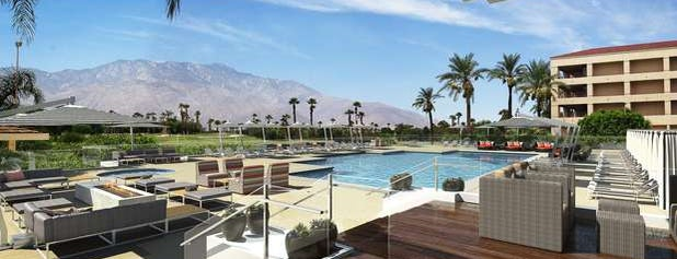 DoubleTree by Hilton Hotel Golf Resort Palm Springs is one of สถานที่ที่ Elvira ถูกใจ.