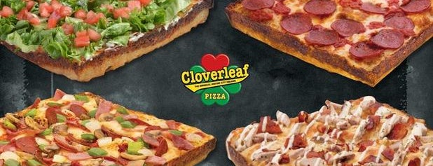 Cloverleaf Pizza is one of Top 100 Pizzas (The Daily Meal).