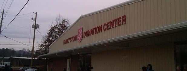 Salvation Army The is one of Thrifting Spots in the Southeast.