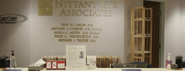 Nittany Eye Associates is one of Stores.