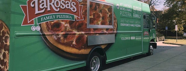 LaRosa's Pizzeria is one of Cinci Work Food.