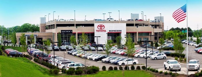 Toyota of Murfreesboro - New is one of B David 님이 좋아한 장소.