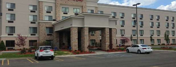 Hampton Inn by Hilton is one of Places I've stayed.
