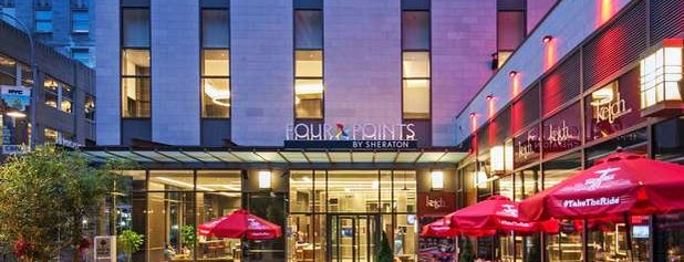 Four Points by Sheraton New York Downtown is one of Orte, die Masha gefallen.