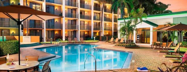 Courtyard by Marriott Fort Lauderdale East is one of 4 emeric Florida.
