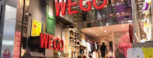 WEGO 心斎橋2号店 is one of Locais curtidos por Katariina.