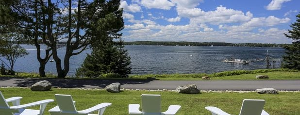 Spruce Point Inn Resort and Spa is one of Maine.