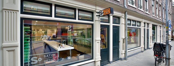 Saton Optiek is one of Amsterdam.