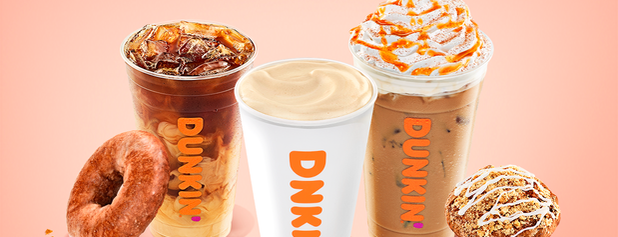 Dunkin' is one of Lieux qui ont plu à Gregg.