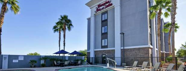 Hampton Inn & Suites is one of Hilton Brand Properties I Have Stayed At.