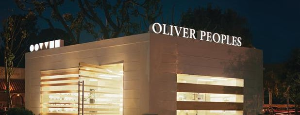 Oliver Peoples is one of Malibu.