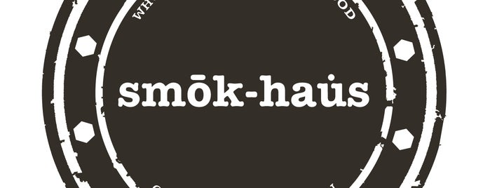 SMOK-HAUS is one of Christopherさんの保存済みスポット.