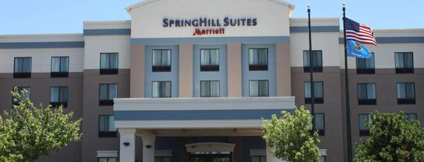 SpringHill Suites Oklahoma City Airport is one of David : понравившиеся места.