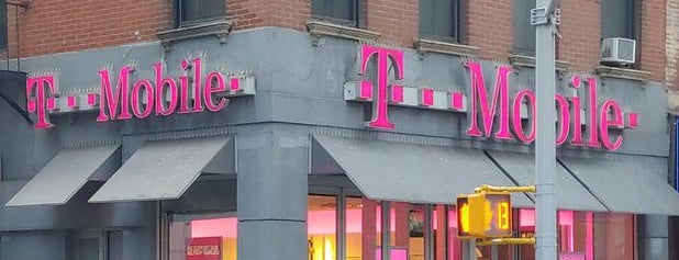 T-Mobile is one of New York.