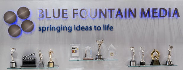 Blue Fountain Media is one of 2014 Must Do's.