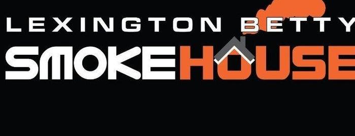 Lexington Betty Smoke House is one of BBQ.