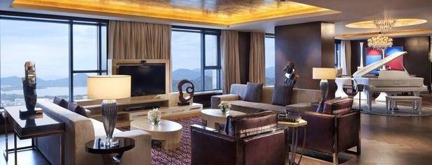 JW Marriott Hangzhou is one of Lieux qui ont plu à Nora.