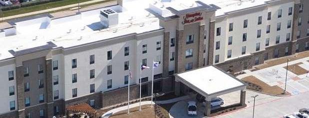 Hampton Inn & Suites - DFW Airport is one of Tempat yang Disukai John.