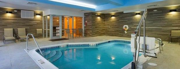 Fairfield Inn & Suites by Marriott Abingdon is one of Orte, die Brett gefallen.