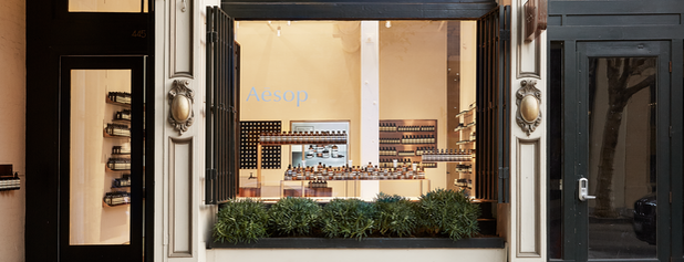 Aesop Jackson Square is one of California.