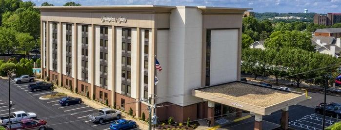 Hampton Inn Charlotte-University Place is one of AT&T Spotlight on Charlotte, NC.