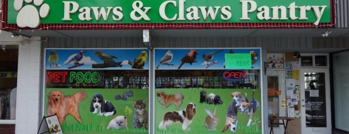 Paws & Claws Pantry is one of Tempat yang Disukai Christian.