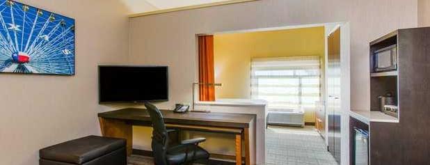 Cambria Hotel & Suites Plano Frisco is one of Lucas'ın Beğendiği Mekanlar.