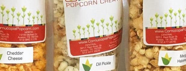 Cornucopia Popcorn Creations is one of สถานที่ที่ Lindsaye ถูกใจ.