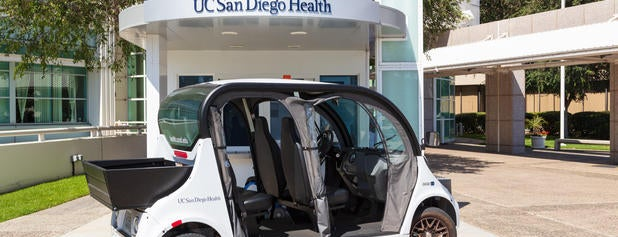UC San Diego Medical Center is one of Tempat yang Disukai Theresa.