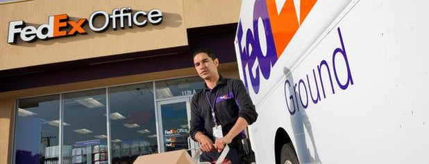 FedEx Office Ship Center is one of Print.