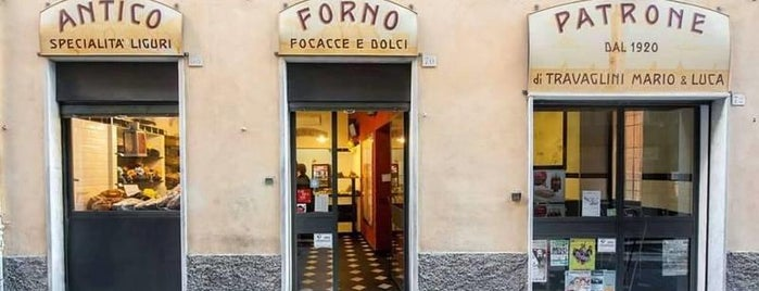 Antico Forno Patrone is one of Focaccia!.