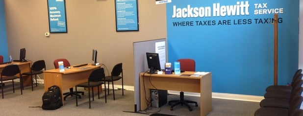 Jackson Hewitt Tax Service is one of favorites 1.