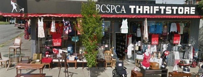 BC SPCA Thrift Store is one of CANADA.