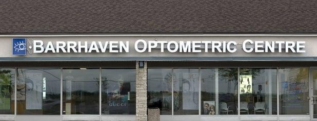 Barrhaven Optometric Centre is one of Posti che sono piaciuti a Stef.