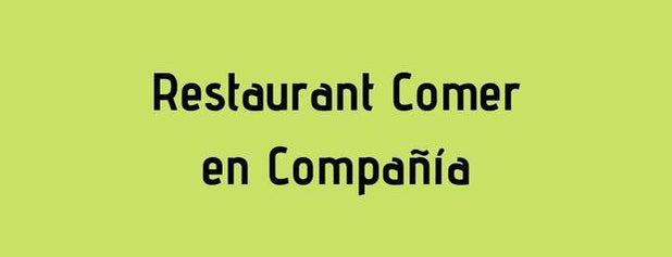Comer en Compañía is one of Max 님이 좋아한 장소.