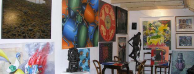 Galerie MILLENNIUM is one of praha umělecká / artistic prague.