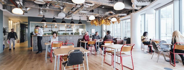 WeWork is one of London Todo.