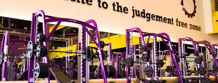 Planet Fitness is one of Anthony : понравившиеся места.