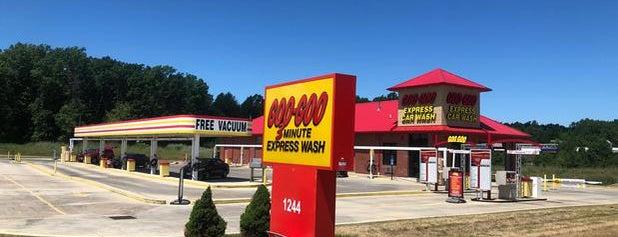 Goo Goo Express Car Wash - Avon is one of Lugares favoritos de Chris.