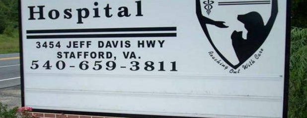 Stafford Animal Hospital is one of สถานที่ที่ Erica ถูกใจ.