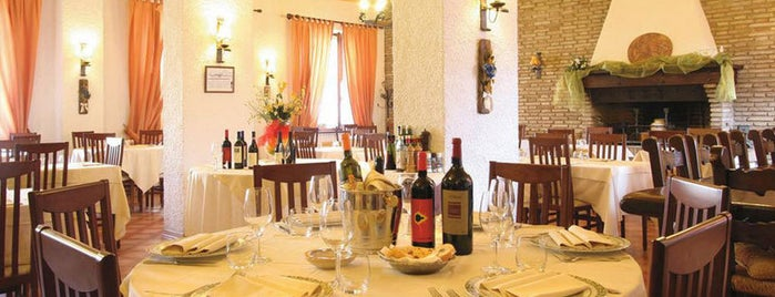 Ristorante Albergo La Palomba is one of Restaurants.