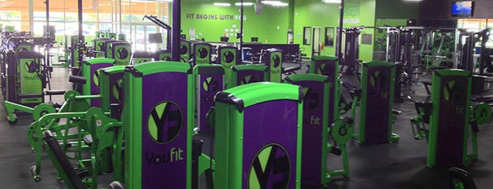 Youfit Health Clubs is one of Sweat It Out Sanctuaries.