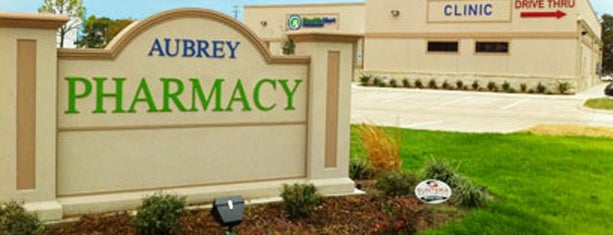 Aubrey Community Pharmacy is one of Aubrey.