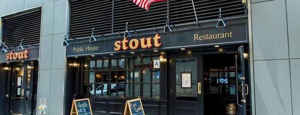 Stout is one of สถานที่ที่ Mark ถูกใจ.